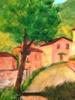 Valerio BETTA - Pintura - Scorcio di Belprato