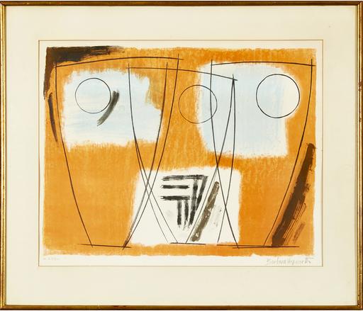 Barbara HEPWORTH - Grabado - Three Forms