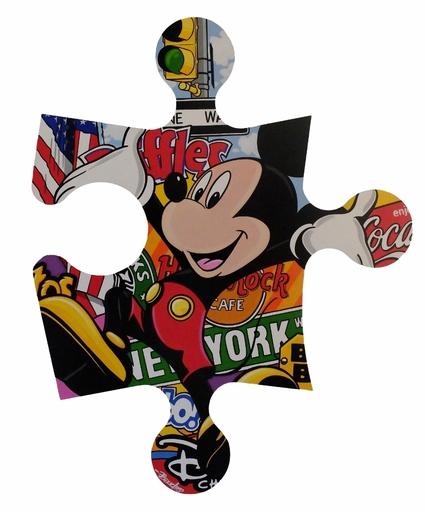 Guy BOUDRO - Pintura - Mickey New-York