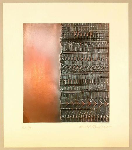 Arnaldo POMODORO - Print-Multiple - Lettera a metà