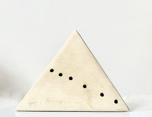 Lucio FONTANA - Scultura Volume - Piramide