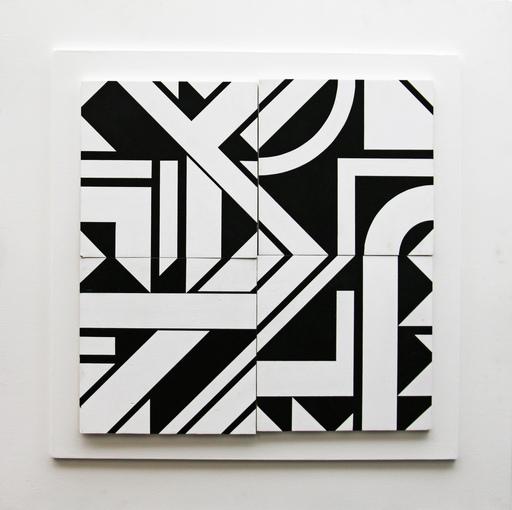 Michel BISBARD - Sculpture-Volume - Tableau magnétique 1