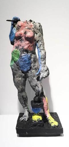 Markus LÜPERTZ - Escultura - Hora