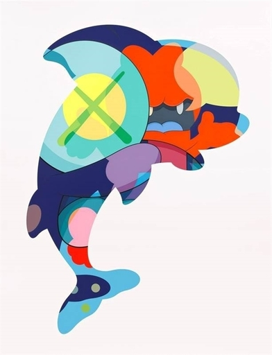 KAWS - Estampe-Multiple - Piranha's when you're sleeping