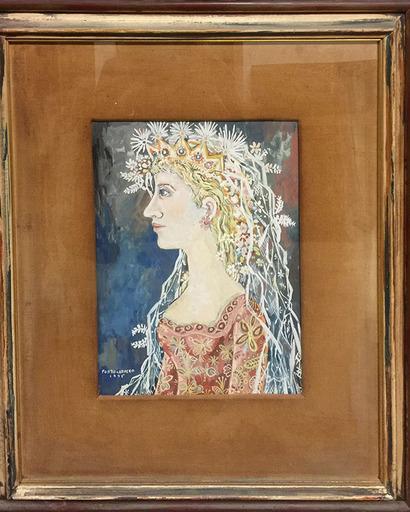 René PORTOCARRERO - Peinture - Flora