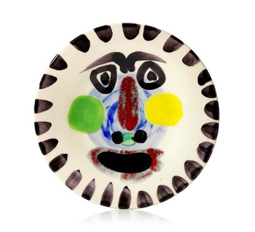 巴勃罗•毕加索 - 陶瓷  - Visage n°202 (A.R.251)