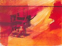 Andy WARHOL - Print-Multiple - Electric Chairs Suite