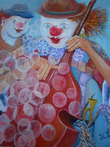 Jean-Claude LELIEVRE - Peinture - les bulles
