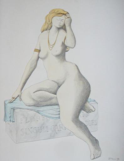 Jacques TROUVÈ - Peinture - Florem decoris singulis carpunt dies