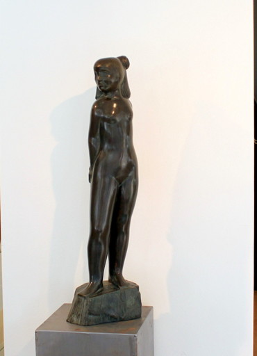 Jan MEEFOUT - Sculpture-Volume - Standing Girl