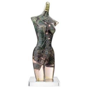 Fernandez ARMAN - Scultura Volume - Large Arman Venus with Two Dollar Bills Sculpture, Unique