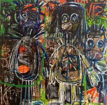 Aboudia Abdoulaye DIARRASSOUBA - Painting - Untitled