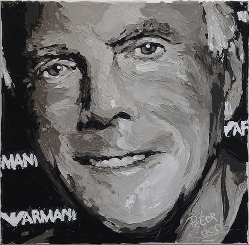 Peter ENGELS - Painting - Giorgio Armani