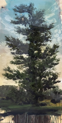 Peter HOFFER - Painting - Blue