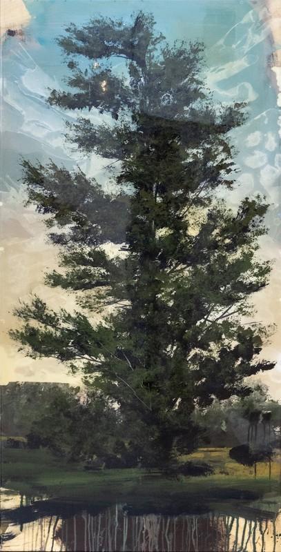 Peter HOFFER - Peinture - Blue