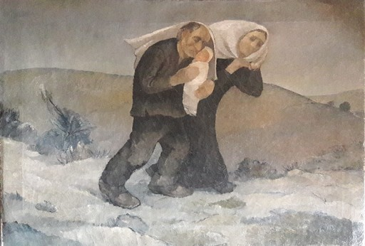 Lorenzo GIGLI - Painting - Invierno