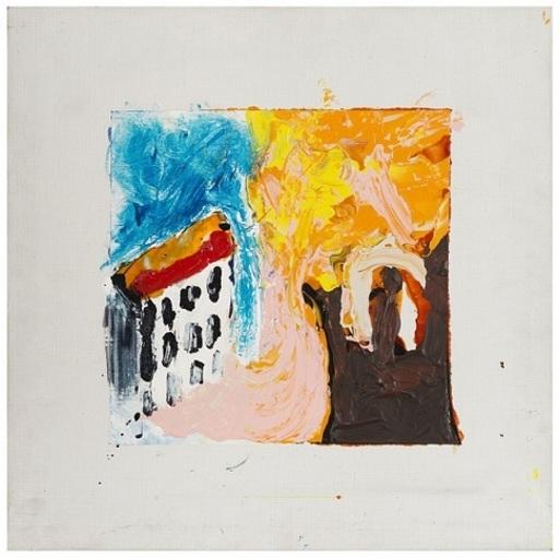 Mario SCHIFANO - Pintura - CASETTA