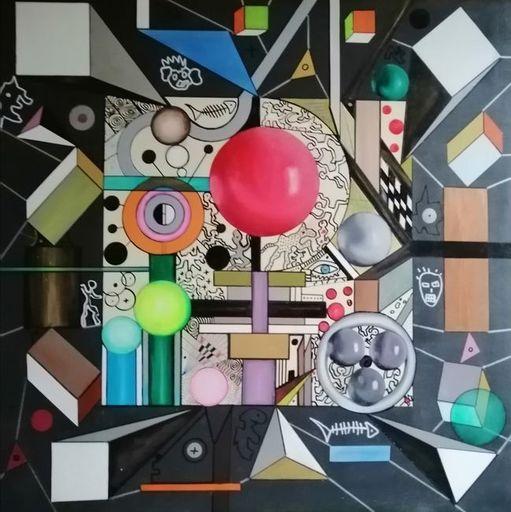Muriel CHARBONNIER - Pittura - N°I-10-05