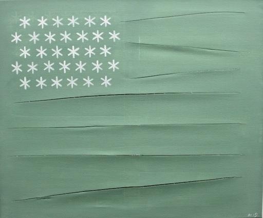 Damir MURATOV - Painting -  Flag