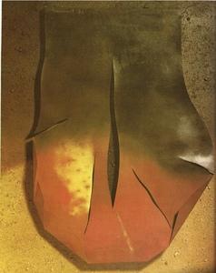 """Josep GUINOVART - Painting - """"Forma movil"""""""
