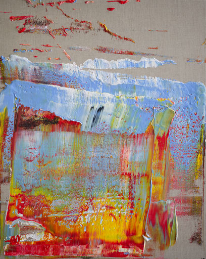Harry James MOODY - Peinture - Linen With Some Abstract No.551