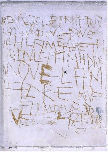 Francesco VELLA - Pittura - scrittura bianca