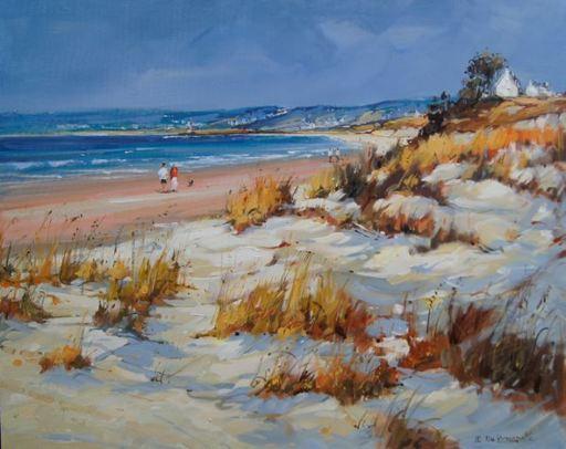 Jean-Pierre DASSONNEVILLE - Peinture - Baie d'Audierne