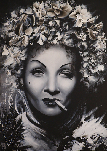 Estelle BARBET - Peinture - Marlène
