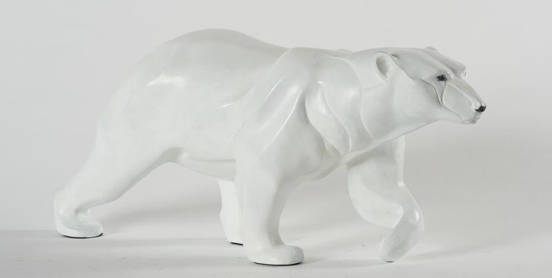 Chantal PORRAS - Escultura - Ours polaire