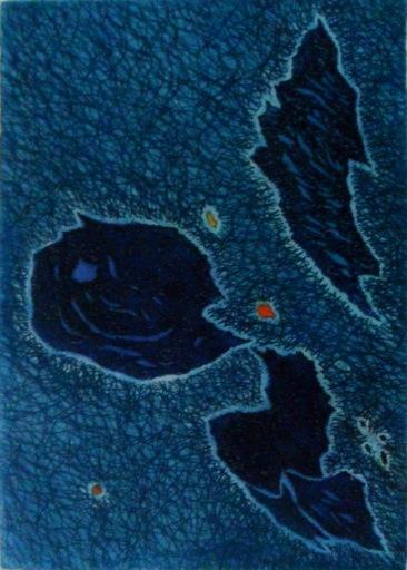 Gustave SINGIER - Grabado - Migration optimiste