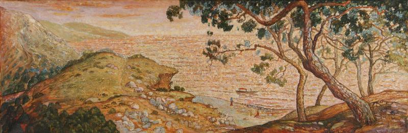 Nadezhda ALKSEEVA-BLINOVA - Painting - Golden Beaches of the Crimea