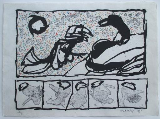 皮埃尔·阿列钦斯基 - 版画 - Lettre de creance II
