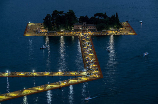 CHRISTO - Photo - Lago d'Iseo - WV14
