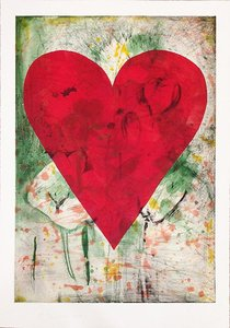 Jim DINE, Yellow Marks