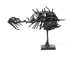 CÉSAR - Sculpture-Volume - Rascasse