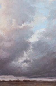 Richard HARPER - Painting - Un après midi solitaire