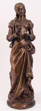 Adrien Etienne GAUDEZ - Sculpture-Volume - Marguerite from Faust