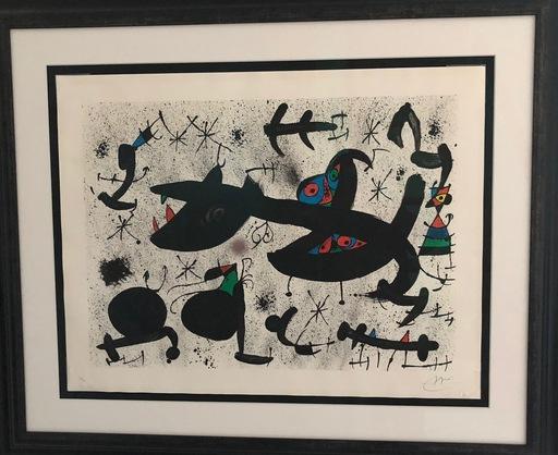 Joan MIRO - Print-Multiple - Homenatge a Joan Prats