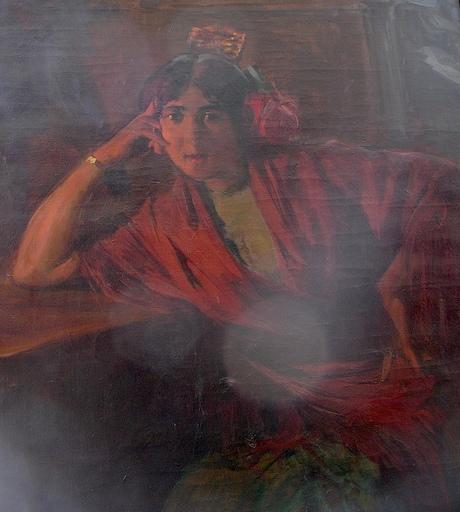 Ulpiano CHECA Y SANZ - Painting - Cantaora - Flamenco - España  - París