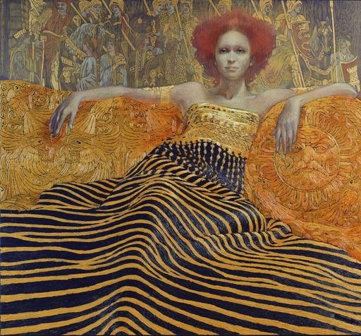 Viktor GORYAEV - 绘画 - Redhead