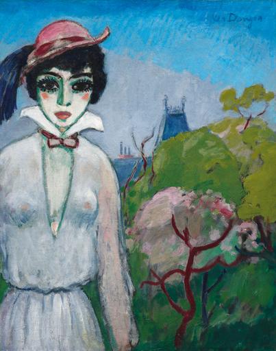 凯斯•凡•东根 - 绘画 - Avenue du Bois de Boulogne