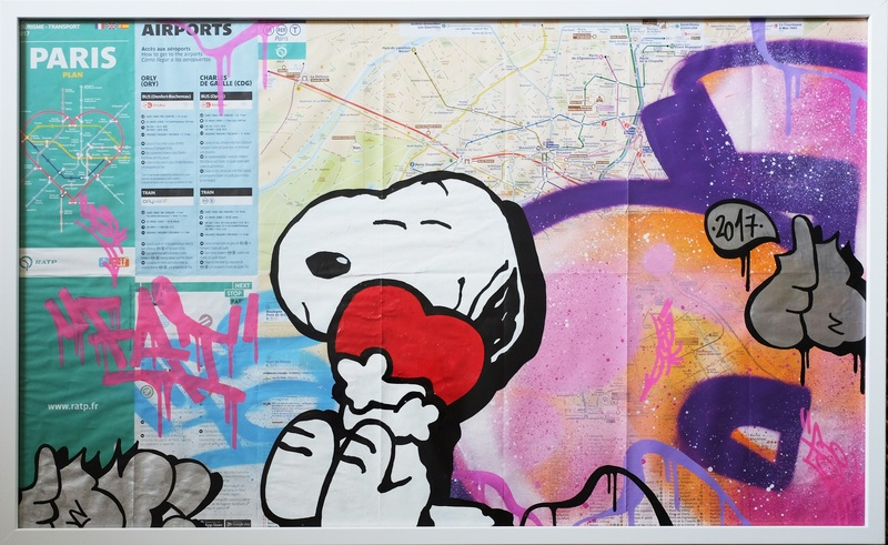 FAT - Pittura - Snoopy Love