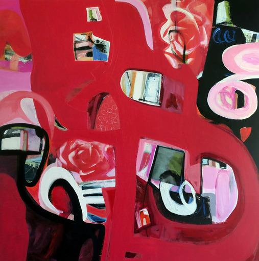Irene NELSON - Pittura - Rose Cactus