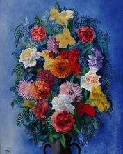 Moïse KISLING - Painting - Bouquet de fleurs