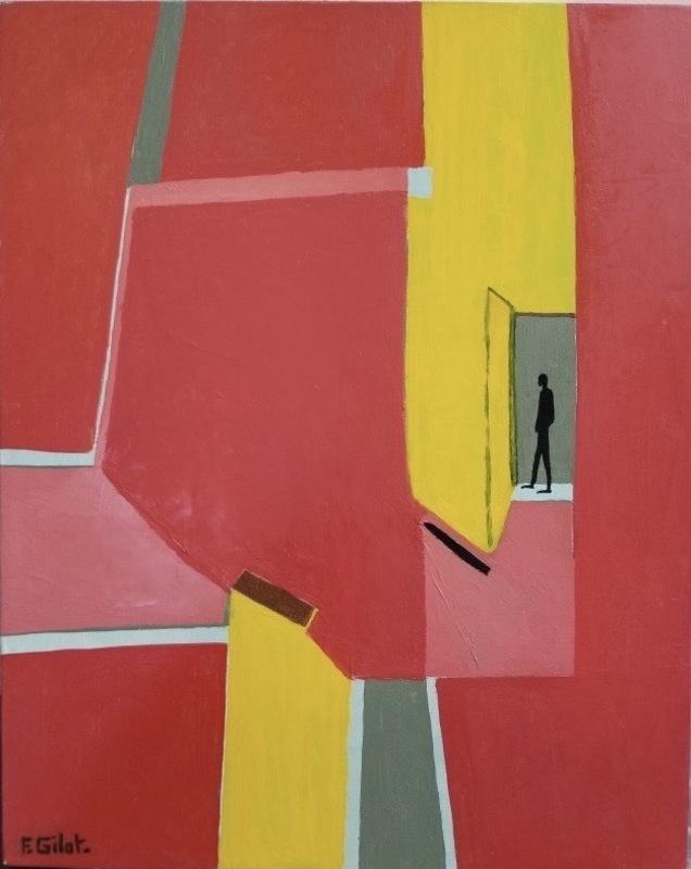 Françoise GILOT - Painting - Corridor