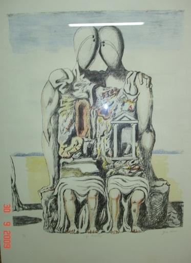 Giorgio DE CHIRICO - Print-Multiple - Gli archeologi
