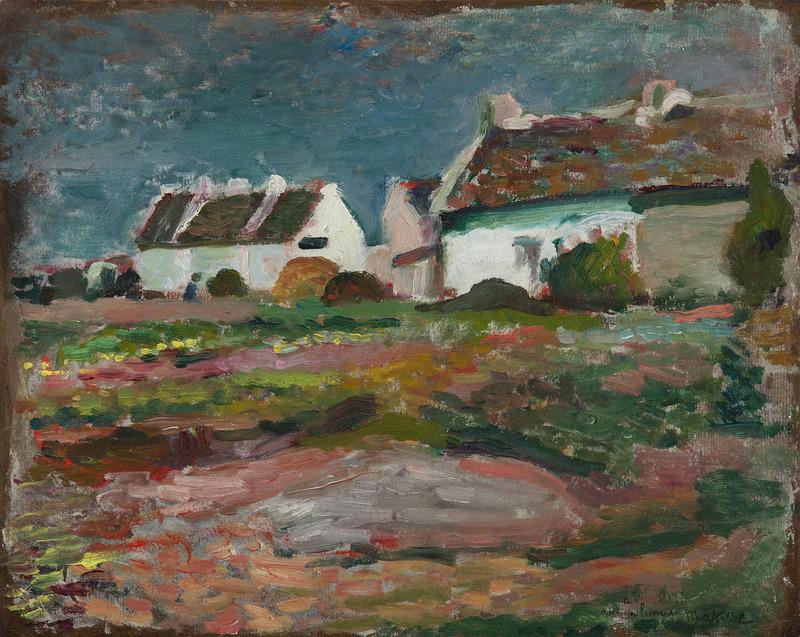 Henri MATISSE - Gemälde - Maison à Kervilahouen, Belle-Île