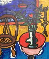 Christian DURIAUD - Pintura - La rose