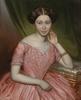 """Johann BÖSS - Gemälde - """"Portrait of a young Lady"""", (1)852, oil on canvas"""