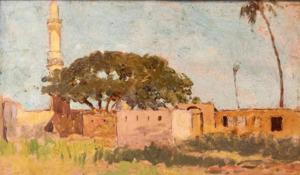 Ettore CERCONE - Peinture - Damanhur Egtto
